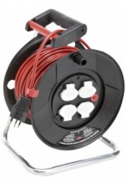 Kabelrolle Garant m.25m TD 3x1 und 4 S..