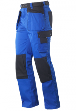 Marsum Arbeitshose Colour blau/schwarz