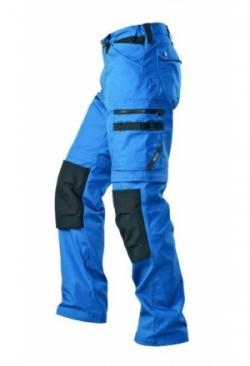2-in-1 Arbeitshose blau/schwarz 1401