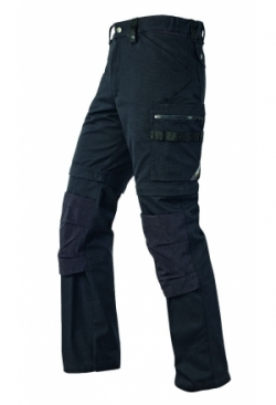2-in-1 Arbeitshose schwarz 1401