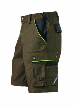 Arbeits-Shorts braun/schwarz 1454