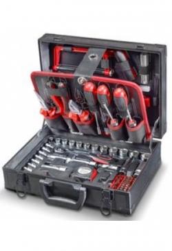 Alu-Werkzeugkoffer, 114-teilig
