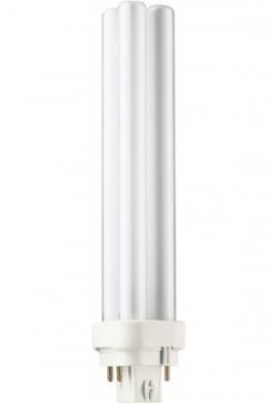 Kompakt-Lampe PLC/4P 26W/840 weiss / P..