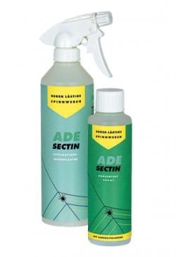 AdeSectin  gegen Spinnweben