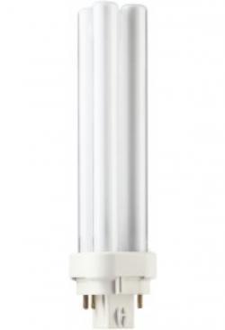 Kompakt-Lampe PLC/4P 18W/840 weiss / P..