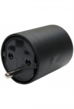 Adapter FIX CEE7/DE Kupplung T12 Steck..