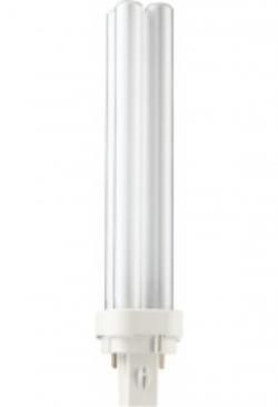 Philips FL-Lampe PLC 26W/840 weiss