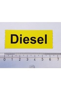 Aufkleber Diesel