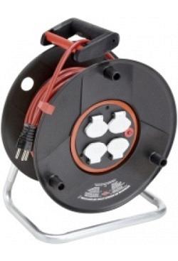 Kabelrolle Bretec 2000 50m TD 3x1,5, 4 Steckdosen T13