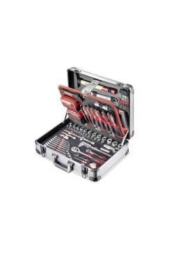 Alu-Werkzeugkoffer, 136-teilig
