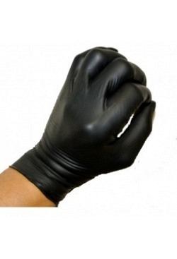 Nitril-Handschuhe schwarz L